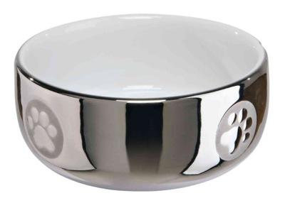 Серебряная миска Керамическая Ноль ,3l (TX-24799)