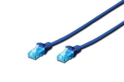 Kabel Sieciowy Lan Ethernet RJ45 1m CAT 5e