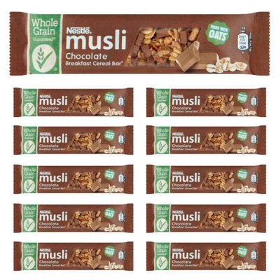 Nestle Мюсли Батончик батон хлеб шоколад 12x35g