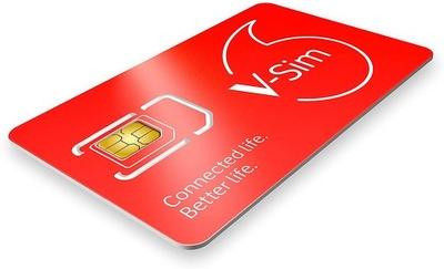 Karta Vodafone V-SIM GPS, FOTOPUŁAPKI, KAMERY LTE