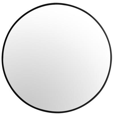 Круглые зеркало 70 СМ чердак Рама МОДНЫЙ ТОНКИЙ ЧЕРНЫЙ