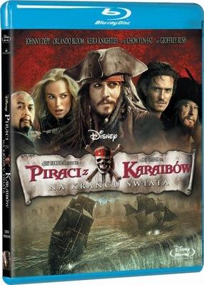 Piraci z Karaibów: Na krańcu świata [Blu-ray]