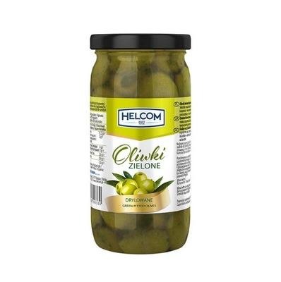 Оливки зеленые целые 350мл без косточек ИСПАНСКИЕ
