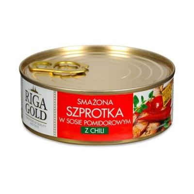 Килька обжаренная в томатном соусе с чили 240