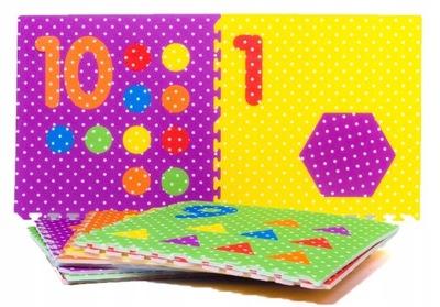 pena Mat XXL 10 Ks 1 cm hrubé Puzzle 61x61cm