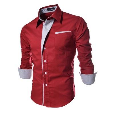 Koszula męska casualowa koszula w paski H