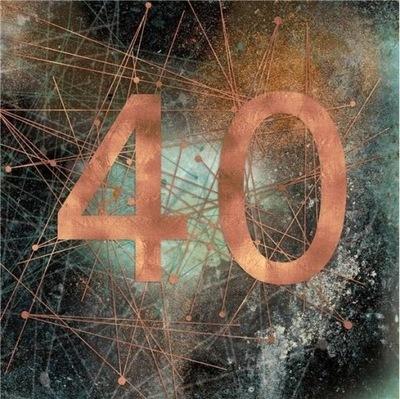 Kartka urodzinowa na urodziny 40