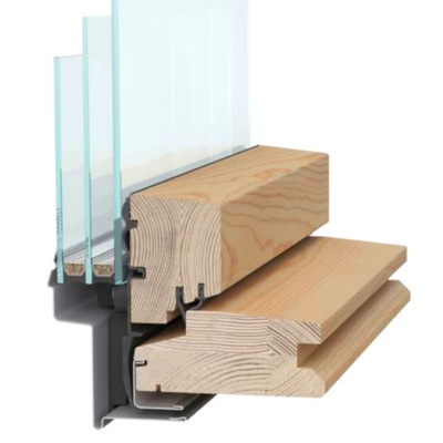 Okno dachowe RoofLITE 78X140 3 szybowe drewniane