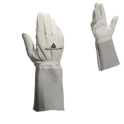 Rękawice spawalnicze skórzane DELTAPLUS 9L