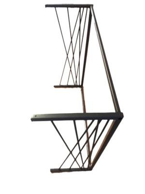 stelaż metalowy konsoli nogi stołu podstawa biurka