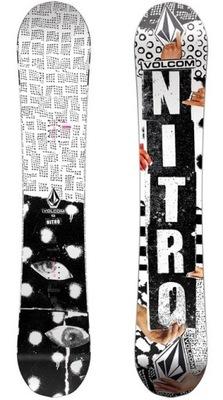 Deska snowboardowa Nitro Beast x Volcom 157 mwide