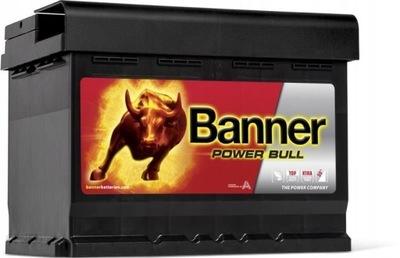 BANNER POWER BULL 62Ah 550A