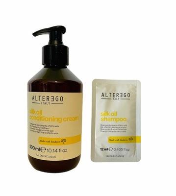 ALTER EGO Silk Oil - Odżywka wygładzająca 300ml