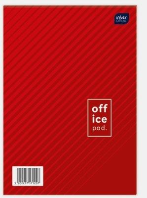Blok listowy biurowy A4 100 kartek linia
