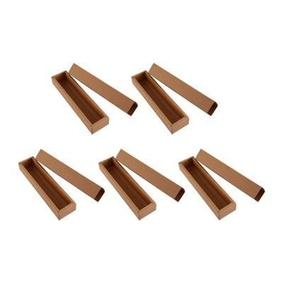 10 sztuk Pudełka Macaron Pudełko z papieru pakoweg