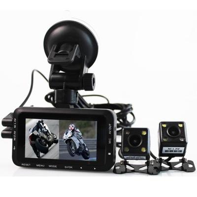 Профиль Wideo REJESTRATOR фотоцикл 2х камера полный высокой четкости 1080p, фото