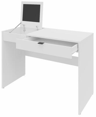 Рабочий стол SMART белое 110см доска буфер обмена ящик
