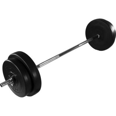 Rovná tyč MOVIT + sada zaťaženia 30 kg