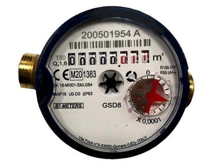 BMeters водомер 1 /2 сухой холодный вода 1 ,6m3/h.231