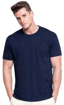 T-shirt koszulka 100% bawełna JHK Ocean granat S