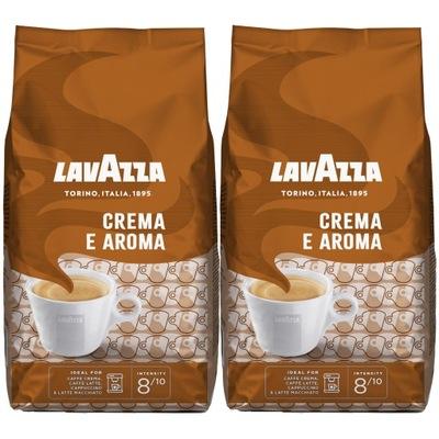 кофе ? зернах Lavazza Креме E Запахе 2x1kg