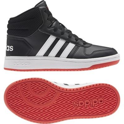 Buty młodzieżowe adidas Hoops Mid 2.0 FY7009 40