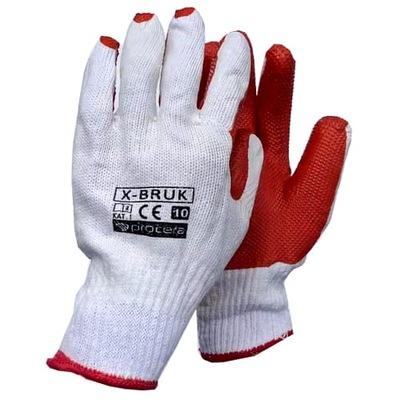 перчатки перчатки рабочие BRUKARSKIE 2 ,03zł/пара