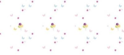 Dyha 536 cm 240 cm 12 ks Pastelové balóny na stenu