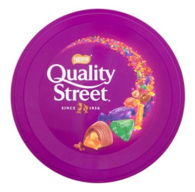 Конфеты Nestle Quality Street Большая банка 480g
