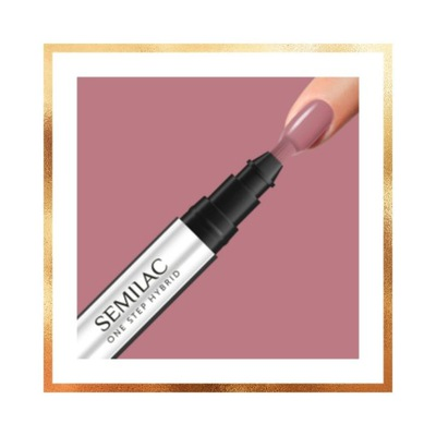 SEMILAC One Step Hybrid marker 3ml baza+kolor+top