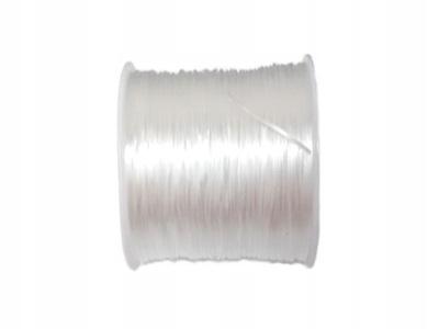 GS001 резинка силиконовая плоская белая Ноль ,5 мм 8м