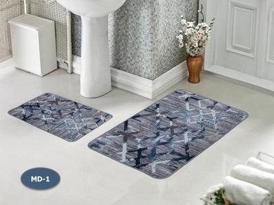 Dywanik łazienkowy z nowoczesnym wzorem