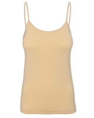 Wygodna koszulka camisole BRUBECK Comfort Cotton S
