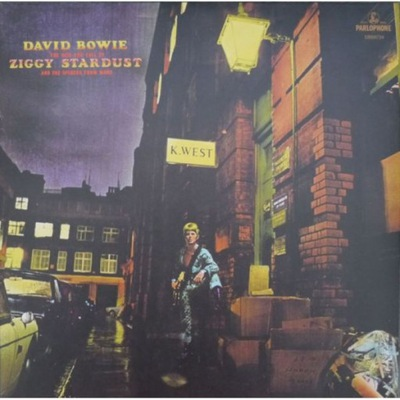 { DAVID BOWIE - RISE AND FALL OF ZIGGY... (1 LP)