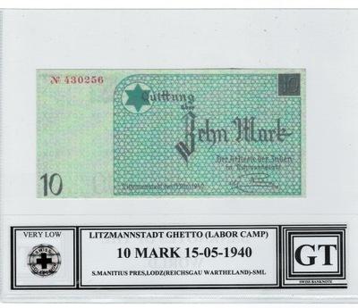 10 марок ГЕТТО СИСТЕМА(LABOR CAMP) 1940 ??? Редкость