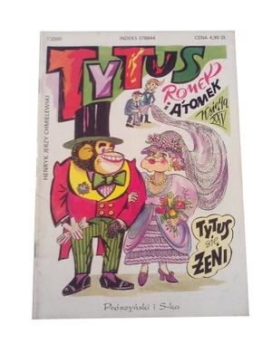 TYTUS księga XXV - 2000 r. wyd. I - AUTOGRAF !