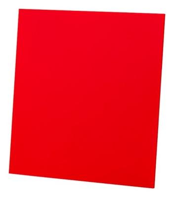 Ventilátor gril DRIM lesklý červený plexisklo