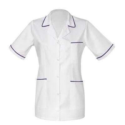 Żakiet medyczny damski, bluza, fartuch biały r.40