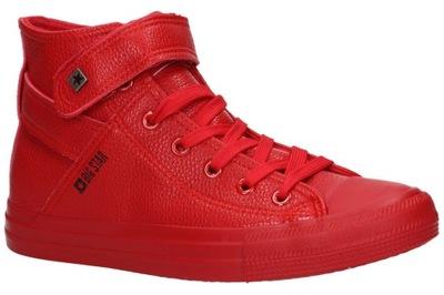 Trampki BIG STAR V274529 czerwone czerwony r.36