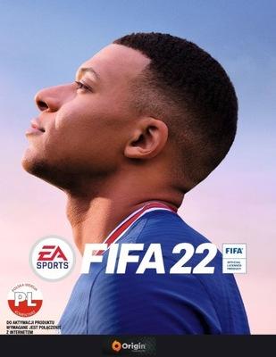 FIFA 22 PL PC klucz ORIGIN