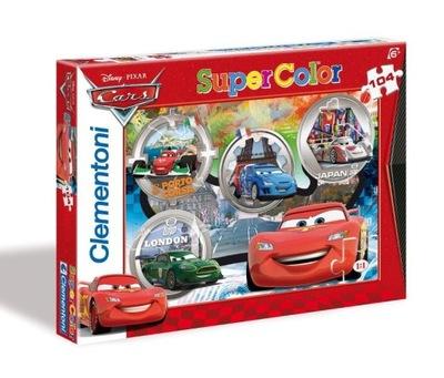 Puzzle 104 elementów Auta Cars Clementoni
