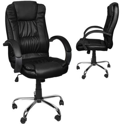 Fotel Obrotowy Biurowy Krzesło Biurowe Tilt Chrom