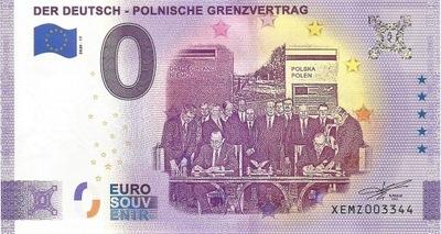 0 EURO POLSKO-NIEMIECKI TRAKTAT GRANICZNY