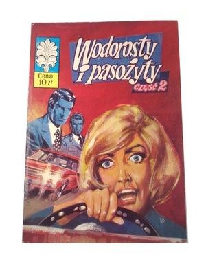 KAPITAN ŻBIK WODOROSTY i PASOŻYTY 2 1976 r. wyd. I