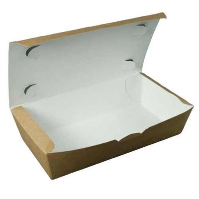 коробка картонные на вынос 1000ml;10x20x5cm 100шт