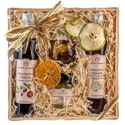 ВКУСНЫЙ Корзина с подарками натуральные препараты подарок