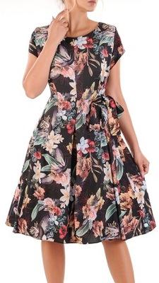Sukienka Cleo 6 48 wizyta wesele komunia wizyta