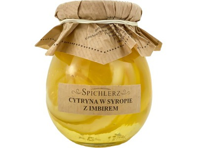 Лимон в сиропе с имбирем ~ Barn ~