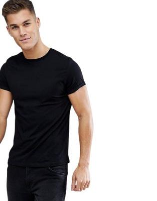 Koszulka T-shirt Keya miękka Bawełna Czarna M