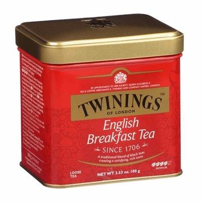 Twinings English Breakfast Tea 100 г